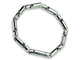 Chisel Stainless Steel Polished Bracelet - 8.5 inches style: SRB169