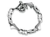 Chisel Stainless Steel Polished Bracelet - 8 inches style: SRB174