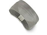 Chisel Stainless Steel Polished Mesh Bracelet style: SRB21097