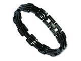 Chisel Stainless Steel Black Plating Bracelet style: SRB216