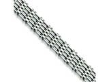 Chisel Stainless Steel Polished Bracelet - 8.5 inches style: SRB222