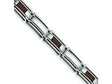 Chisel Stainless Steel and Chocolate color IP - 8.75 inches