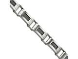 Chisel Stainless Steel Wire Brushed 8.5in Bracelet style: SRB44185