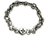 Chisel Stainless Steel Polished Magnetic Clasp 8.5in Bracelet style: SRB51285