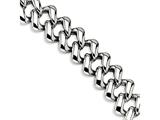 Chisel Stainless Steel Polished 8.5in Bracelet style: SRB51585