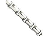 Chisel Stainless Steel Polished 8.5in Bracelet style: SRB51685