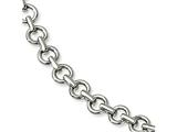 Chisel Stainless Steel Polished Links 8.25in Bracelet style: SRB544825
