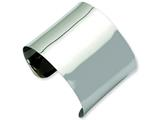 Chisel Stainless Steel Polished Cuff Bangle style: SRB601