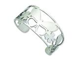 Chisel Stainless Steel Polished Butterfly Cuff Bangle style: SRB605