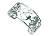 Chisel Stainless Steel Dolphins Cuff Bangle style: SRB677