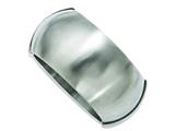 Chisel Stainless Steel Matte Finish Hinged Bangle style: SRB680