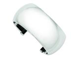 Chisel Stainless Steel Polished Cuff Bangle style: SRB681