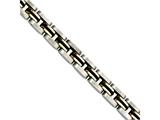 Chisel Stainless Steel Gold Ipg-plated and Rubber 8.25in Bracelet style: SRB72885