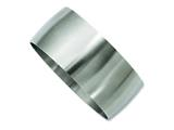 Chisel Stainless Steel Brushed Bangle style: SRB785