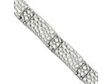 Chisel Stainless Steel Textured 8.25in Bracelet style: SRB830825