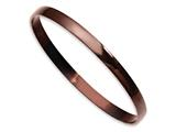 Chisel Stainless Steel Brown Ip Plated Bangle style: SRB856CP