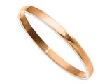 Chisel Stainless Steel Pink Ip-plated Bangle style: SRB856RP