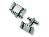 Chisel Stainless Steel Cuff Links style: SRC105