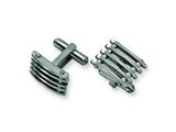 Chisel Stainless Steel Cuff Links style: SRC107
