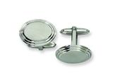 Chisel Stainless Steel Cuff Links style: SRC128