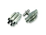 Chisel Stainless Steel Cuff Links style: SRC165