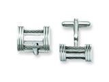 Chisel Stainless Steel Wire Cuff Links style: SRC200