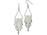 Chisel Stainless Steel Polished Shepherd Hook Dangle Earrings style: SRE1027