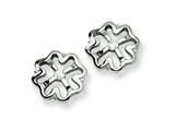 Chisel Stainless Steel CZ Earrings style: SRE152
