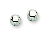 Chisel Stainless Steel Polished Post Earrings style: SRE329