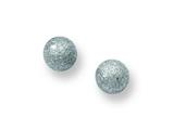 Chisel Stainless Steel Laser Cut 4mm Bead Post Earrings style: SRE444