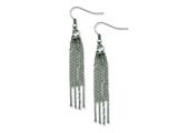 Chisel Stainless Steel Multistrand Dangle Earrings style: SRE518
