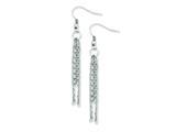 Chisel Stainless Steel Multistrand Fancy Dangle Earrings style: SRE521