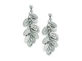 Chisel Stainless Steel Ovals Post Dangle Earrings style: SRE542