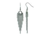 Chisel Stainless Steel Dangle Earrings style: SRE680