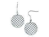 Chisel Stainless Steel Dangle Earrings style: SRE682
