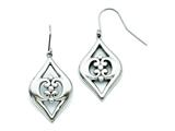 Chisel Stainless Steel Shepherd Hook Dangle Earrings style: SRE703
