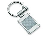 Chisel Stainless Steel Grey Carbon Fiber Key Chain style: SRK103