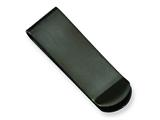 Chisel Stainless Steel Black-plated Money Clip style: SRM114