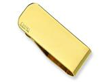 Chisel Stainless Steel Gold Plated Money Clip style: SRM116