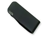 Chisel Stainless Steel Black Plated Money Clip