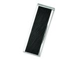 Chisel Stainless Steel Textured Black-plated Money Clip style: SRM144
