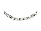 Chisel Stainless Steel Polished Link 24in Necklace style: SRN109424