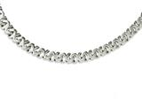 Chisel Stainless Steel Polished Fancy Xs 24in Necklace style: SRN109624