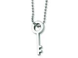 Chisel Stainless Steel Key Necklace - 22 inches style: SRN130