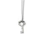 Chisel Stainless Steel Polished Fancy Key Pendant Necklace style: SRN135418