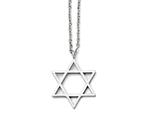 Chisel Stainless Steel Polished Star Of David Necklace style: SRN139820