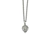 Chisel Stainless Steel Religious Mary Necklace style: SRN163618