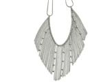 Chisel Stainless Steel Polished Necklace style: SRN167520