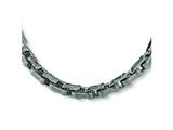 Chisel Stainless Steel Brushed and Polished Necklace - 20 inches