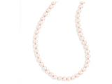 Chisel 8mm 30in Pink Simulated Pearl Cord Necklace style: SRN177230
